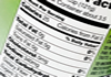 a thumbnail image of a food nutrition label showing the amount of calories in a food product