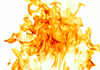 a thumbnail image of flames on a white background